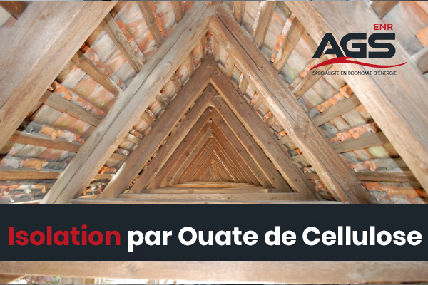 Isolation par Ouate de Cellulose