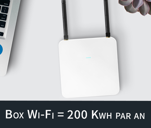 consommation box internet
